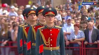 Парад Победы 9 мая 2018 г. в Волгограде