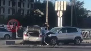 Жуткое ДТП в Дагомысе. Два человека погибли (05.11.2018)