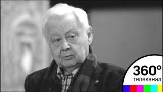 Олега Табакова похоронили на Новодевичьем кладбище в Москве