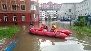 Хабаровские спасатели в Приморье
