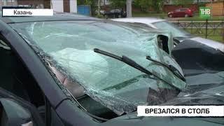 Беременная женщина и водитель автомобиля Лада Икс-Рей пострадали в результате аварии на пр.Амирхана