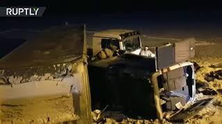 В ДТП в Башкирии погибли девять человек