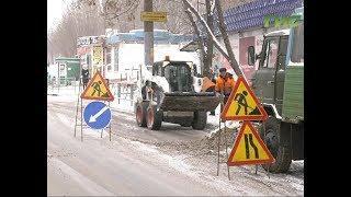 На борьбу со снегом во всеоружии. Городские службы продолжают устранять последствия снегопадов