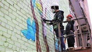 Нижневартовские многоэтажки делают наряднее лучшие художники страны