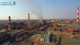 Пожар на заводе во Владикавказе