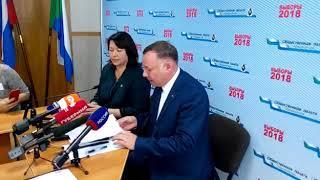 Глава крайизбиркома Геннадий Накушнов рассказал о ходе голосования
