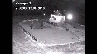 На Камчатке вандалы обломали уши медведице на монументе «Здесь начинается Россия»