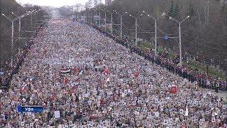 «Бессмертный полк» в Башкирии собрал 370 тысяч человек