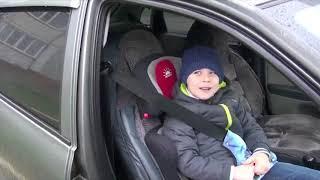 В Ставропольском крае родители сняли ролик о правилах перевозки детей