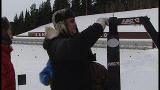 Поставили камеры и проверили трассы. В Ханты-Мансийске готовятся к этапу Кубка IBU
