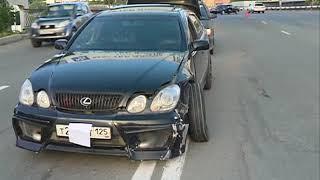 Потерявший управление автомобиль стал причиной серьезного ДТП на Гоголя