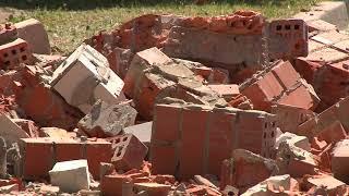 В Саратове произошло обрушение кладки многоэтажного дома. Подробности
