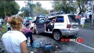 Нетрезвый автомобилист в Артеме устроил серьезное ДТП и сам угодил в больницу