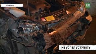 В результате серьёзной аварии в Дербышках пострадал один человек - ТНВ