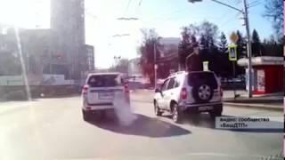 В ДТП с «Land Cruiser» пострадал водитель отечественного автомобиля