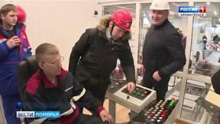 В Шенкурском районе заработал новый лесопильный цех компании «Регион-Лес»