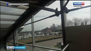 В Советском районе тушат крупный пожар