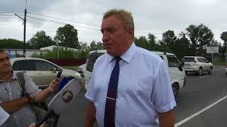 Олег Гроо рассказал о качестве дорог в Хабаровске
