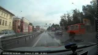 02 07 2018 ДТП на Московском проспекте в Ярославле