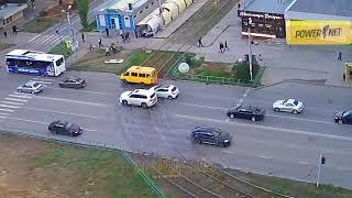 ДТП (авария г. Волжский) пр. Ленина ул. Академика Королева 26-10-2018 15-50