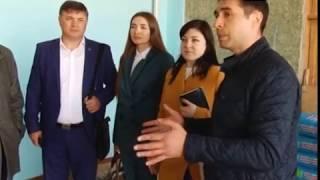 Юрий Арбачаков посетил строящийся зал бокса