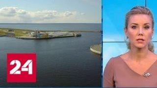 """""""Погода 24"""": в Санкт-Петербурге готовятся к наводнению - Россия 24"""