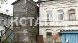 «Страна Оз» по-городецки - ураган едва не унес  деревянный дом