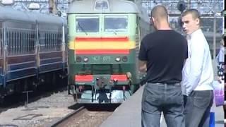 Электропоезд сбил мужчину в районе станции Чебаково