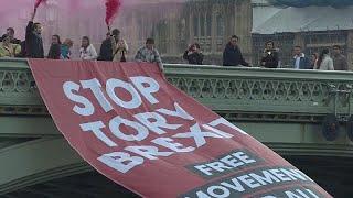 """Противники выхода Британии из ЕС требуют остановить """"брексит"""" …"""