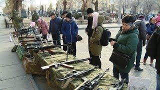 Волгоградцы увидели «Славу русского оружия»