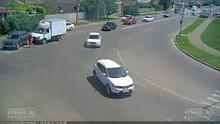 ДТП на ул. Российская и ул. Пригородная 22.05.2018
