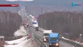 Движение по мосту на участке трассы М-5 возобновилось в обе стороны