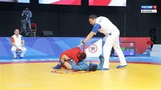 Наши самбисты завоевали 5 медалей чемпионата страны