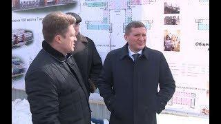 Губернатор Андрей Бочаров провел рабочую поездку в Камышин