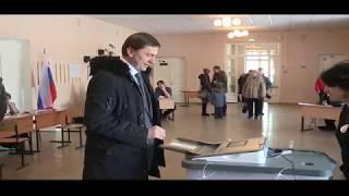 На выборах в Новосибирске проголосовал депутат Госдумы Виктор Игнатов