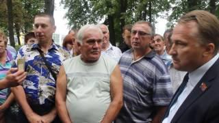 """Собрание рабочих завода """"Дормаш"""" (12.08.2016)"""