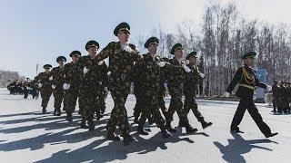 Чтобы День Победы в Ханты-Мансийске прошёл идеально, участники парада тренировали шаг целый месяц