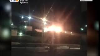 Серьёзный пожар в иркутской колонии №6  Там горела крыша общежития