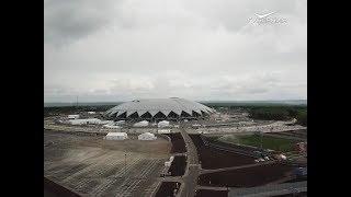 """Дворец пляжных видов спорта и концертный зал могут появиться на территории """"Самара Арены"""""""