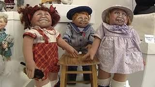 В одном из торговых центров Ярославля открылась выставка авторских кукол