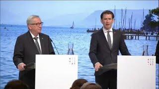 Еврокомиссия и Австрия обсудили миграцию
