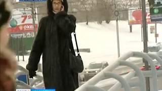 Более 80 автобусов из-за морозов не вышли на линию