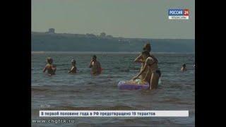 Спасатели призывают жителей республики купаться только в оборудованных местах