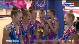 Всероссийские соревнования в Пензе собрали более 200 юных граций