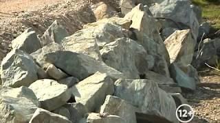 Строительство дамбы продолжается в п.Тукалевский Биробиджана(РИА Биробиджан)