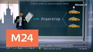 """""""Москва сегодня"""": как меняется столичный рынок такси - Москва 24"""