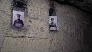 В тоннелях Первой мировой