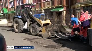 В области продолжается ямочный ремонт дорог