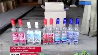 6 тонн контрафактного алкоголя изъяли у бутлегеров в Иркутском районе